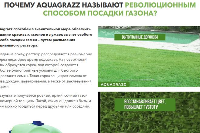 Скопирую страницу любой landing page с установкой панели управления 24 - kwork.ru