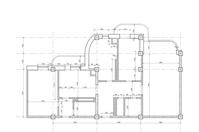 Оцифровка чертежей, планов в DWG, любые чертежи планы,детали 18 - kwork.ru