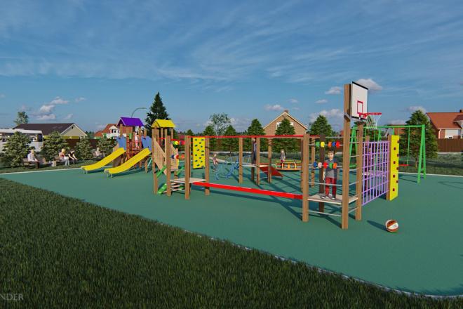 Фотореалистичная 3D визуализация экстерьера Вашего дома 194 - kwork.ru