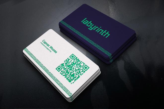 Сделаю дизайн визитки 14 - kwork.ru