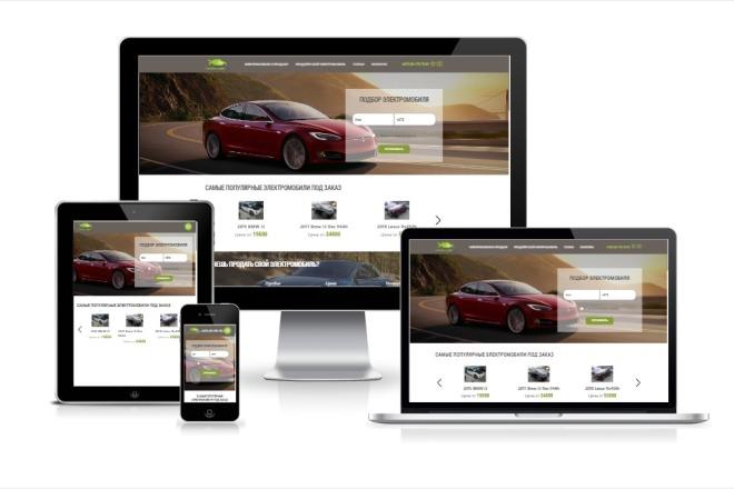 Верстка вашего сайта из PSD макета. Адаптивно и кроссбраузерно 1 - kwork.ru