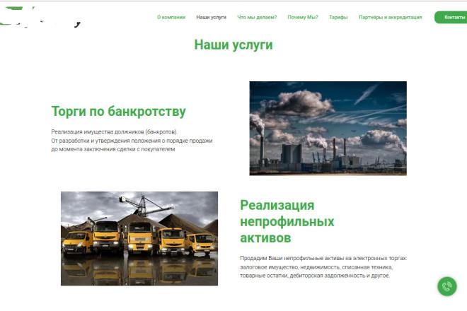 Скопирую страницу любой landing page с установкой панели управления 92 - kwork.ru
