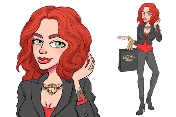 Нарисую вам персонажа или иллюстрацию 4 - kwork.ru