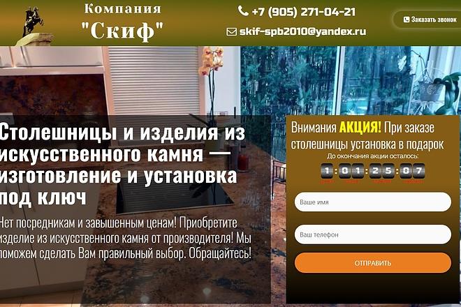 Создам лендинг на вордпресс быстро 9 - kwork.ru