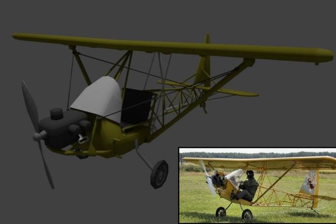 Blender l 3Д моделирование 32 - kwork.ru