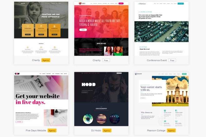 ПАК 1000 шаблонов и дополнений для WordPress 71 - kwork.ru