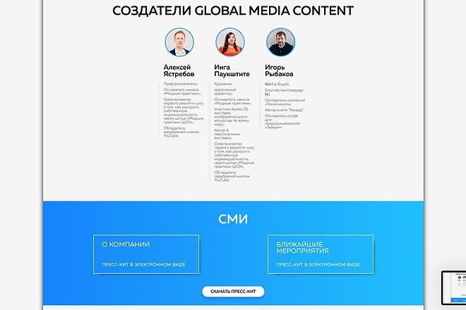 Вёрстка сайтов по доступной цене 115 - kwork.ru