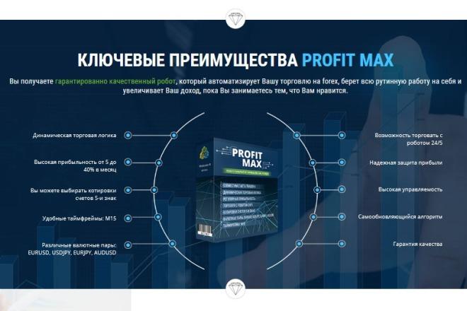 Дизайн продающего лендинга для компании 22 - kwork.ru