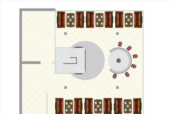 Визуализация торгового помещения, островка 42 - kwork.ru