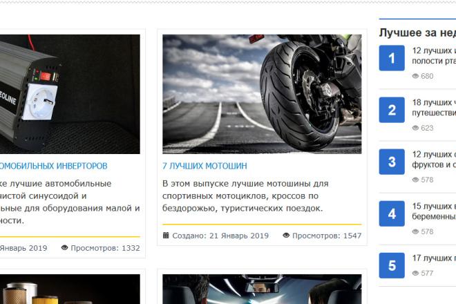 Доработка и исправления верстки. CMS WordPress, Joomla 95 - kwork.ru
