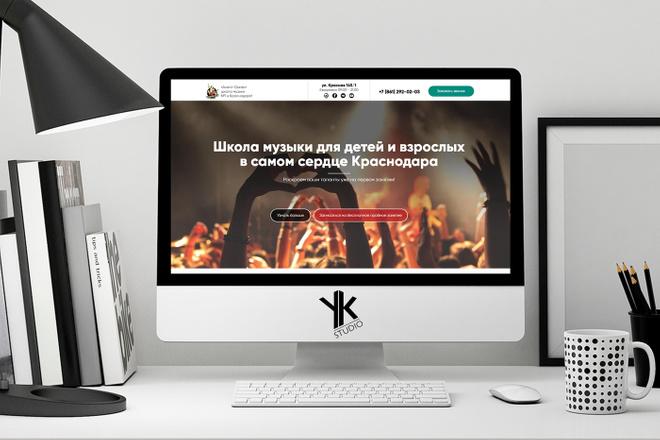 Лендинг под ключ, крутой и стильный дизайн 33 - kwork.ru