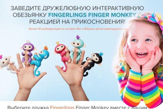 Скопировать Landing page, одностраничный сайт, посадочную страницу 25 - kwork.ru