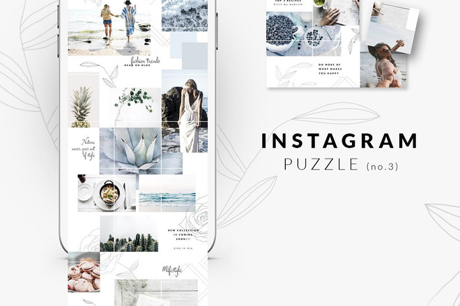 25000 шаблонов для Instagram, Вконтакте и Facebook + жирный Бонус 22 - kwork.ru