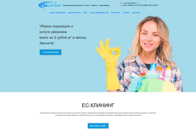 Landing Page под ключ, одностраничный сайт 2 - kwork.ru