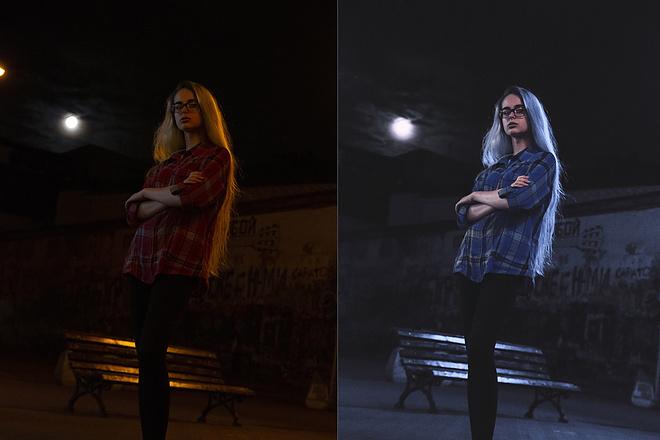 Занимаюсь обработкой в фотошопе - ретушь, замена фона, цветокор 1 - kwork.ru