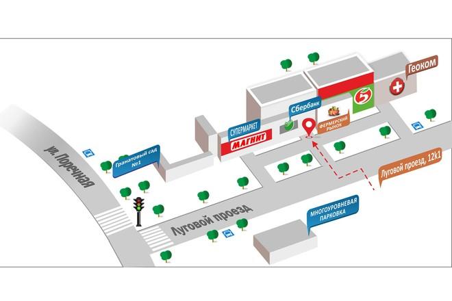 Карты и схемы проезда 17 - kwork.ru