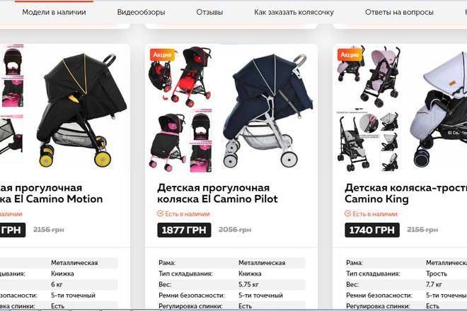 Качественная копия лендинга с установкой панели редактора 54 - kwork.ru