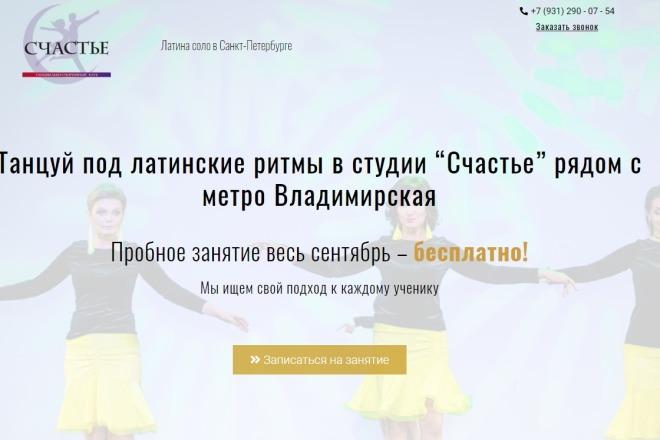Создам простой мини лендинг на Вордпресс 4 - kwork.ru