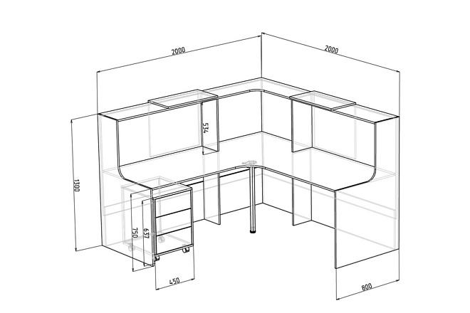 Визуализация мебели, предметная, в интерьере 34 - kwork.ru