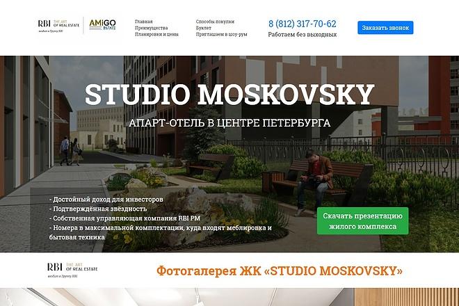 Копирование Landing Page 25 - kwork.ru