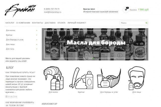 Профессионально создам интернет-магазин на insales + 20 дней бесплатно 49 - kwork.ru