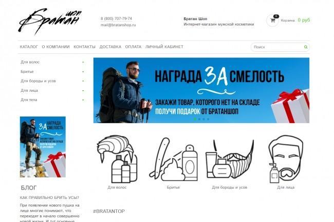 Профессионально создам интернет-магазин на insales + 20 дней бесплатно 45 - kwork.ru
