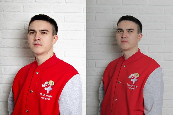 Обработка фото - ретушь, цветокоррекция, замена фона 3 - kwork.ru