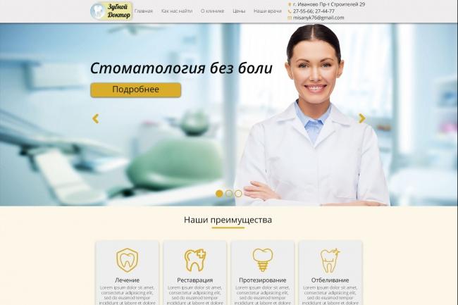 Адаптивная верстка за 48 часов 17 - kwork.ru