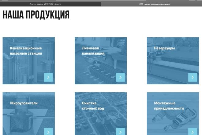 Вёрстка сайтов по доступной цене 65 - kwork.ru