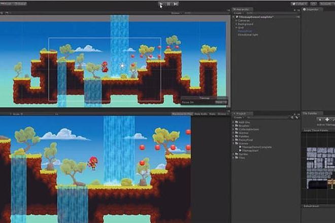 30 Исходников игр на Unity 2 - kwork.ru