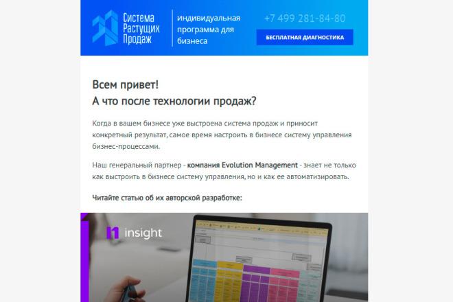 Создание и вёрстка HTML письма для рассылки 31 - kwork.ru