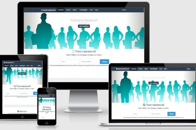 Создам сайт для пассивного заработка 44 - kwork.ru