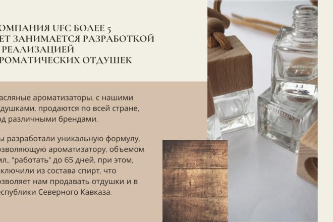 Стильный дизайн презентации 149 - kwork.ru