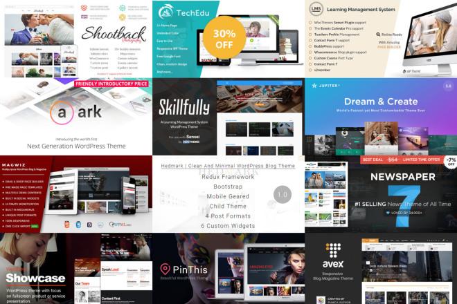 49 премиум тем Вордпресс для интернет-магазина на WooCommerce 2 - kwork.ru