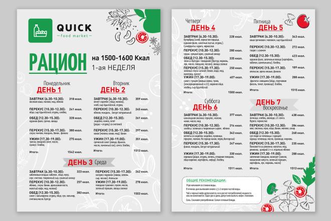 Разработаю дизайн листовки, флаера 34 - kwork.ru