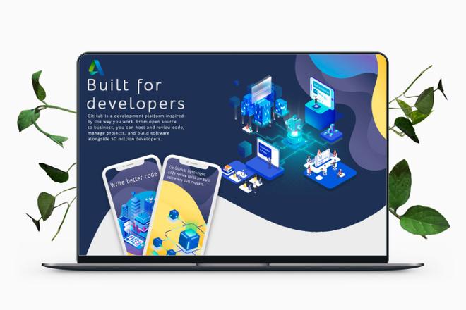 Дизайн Бизнес Презентаций 1 - kwork.ru