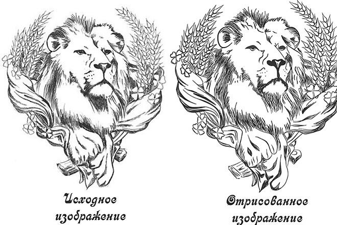 Перевод изображения в вектор - быстро 16 - kwork.ru