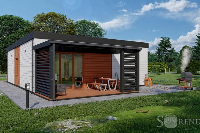 Фотореалистичная 3D визуализация экстерьера Вашего дома 28 - kwork.ru