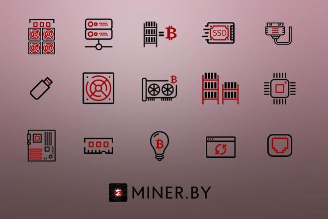 До 10 иконок или кнопок для проекта 9 - kwork.ru