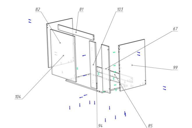 Конструкторская документация для изготовления мебели 37 - kwork.ru