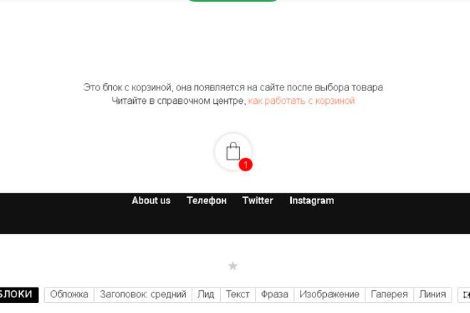 Дизайн сайтов на Тильде 10 - kwork.ru