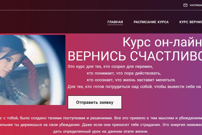 Создание сайтов на конструкторе сайтов WIX, nethouse 46 - kwork.ru