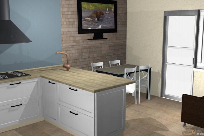 Создам 3D дизайн-проект кухни вашей мечты 20 - kwork.ru