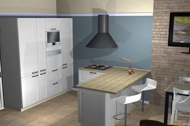 Создам 3D дизайн-проект кухни вашей мечты 19 - kwork.ru