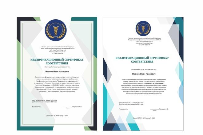 Сделаю сертификат 23 - kwork.ru