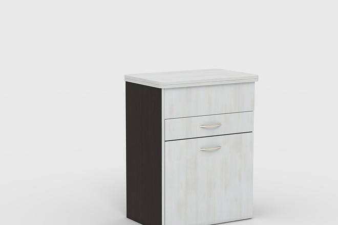 Визуализация мебели, предметная, в интерьере 8 - kwork.ru