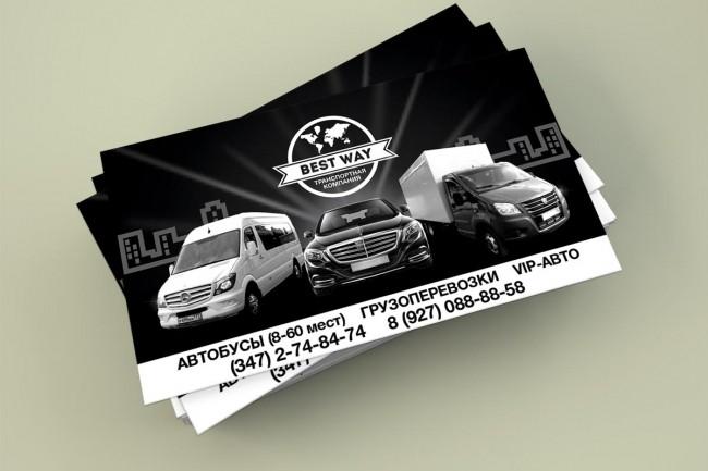 Дизайн визиток 27 - kwork.ru
