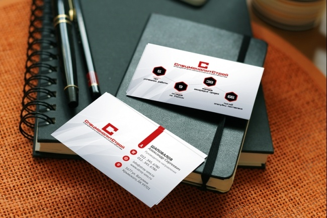 Дизайн визиток 37 - kwork.ru