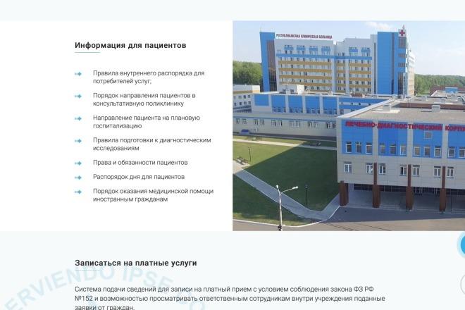 Вёрстка сайтов по доступной цене 201 - kwork.ru