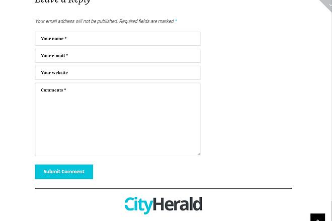 Премиум тема CityHelard для Wordpress + бонус 4 - kwork.ru